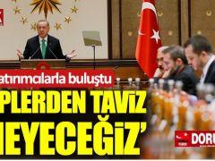 Erdoğan ABD'li yatırımcılarla bir araya geldi