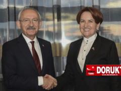 CHP ve İYİ Parti'den Yerelde İttifak Adımı