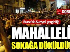 Bursa'da Suriyeli Gerginliği!