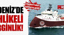 Akdeniz'de tehlikeli gerginlik!