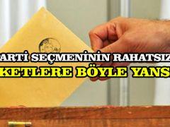 AK Parti seçmeninin rahatsızlığı anketlere böyle yansıdı
