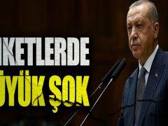 Erdoğan'a anketlerde büyük şok