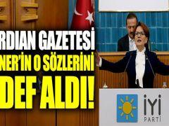 Guardian gazetesi, Akşener'in o sözlerini hedef aldı