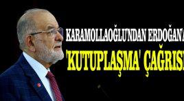 Karamollaoğlu'ndan Erdoğan'a 'kutuplaşma' çağrısı