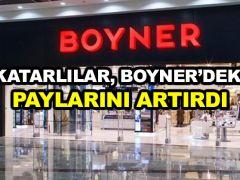 Katarlılar, Boyner'deki paylarını artırdı
