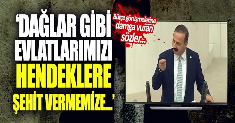 İYİ Partili Ağıralioğlu'ndan bütçe tepkisi