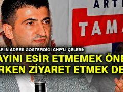 Bakan Akar'ın adres gösterdiği CHP'li Çelebi: Subayını esir etmemek önemli, esirken ziyaret etmek değil