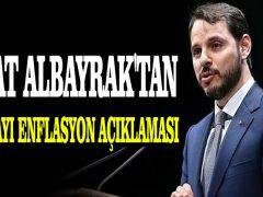 Berat Albayrak'tan Kasım ayı enflasyon açıklaması