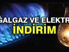 Erdoğan açıkladı… Doğalgaz ve elektriğe yüzde 10 indirim