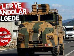 Suriye sınırında hareketlilik! JÖH birlikleri ve komandolar bölgede