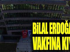 AK Parti'li belediyeden Bilal Erdoğan'ın vakfına kıyak!