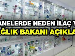 Eczanelerde neden ilaç yok? Sağlık Bakanı açıkladı