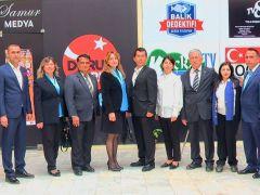 İYİ Parti Dalaman Belediye Meclis Üyesi Adayları  Samur Medya'ya nezaket ziyaretinde bulundu