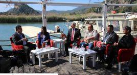Seçim Pusulası programında Mehmet Kocadon gazetecilerin sorularını yanıtladı