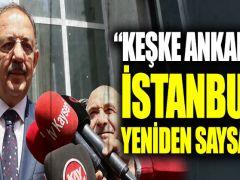 """Özhaseki: """"Keşke Ankara ve İstanbul'u yeniden saysalar"""""""