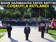 23 Nisan Gazimağusa Zafer Anıtı'nda Coşkuyla Kutlandı