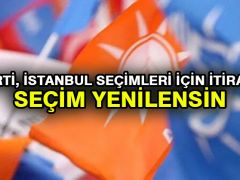 AK Parti, İstanbul seçimleri için itiraz etti: Seçim yenilensin