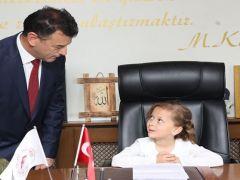 """Başkan Ecrin Demir: """"Eğitim – öğretimi her zaman ön planda tutacağım"""""""
