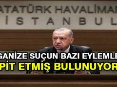 Cumhurbaşkanı Erdoğan: Organize suçun bazı eylemlerini tespit etmiş bulunuyoruz