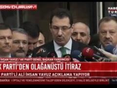 AK Parti'nin olağanüstü itirazına CHP'den ilk tepki!