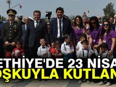 Fethiye'de 23 Nisan coşkuyla kutlandı