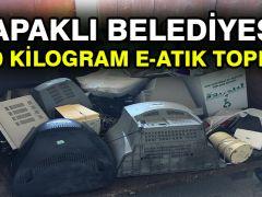 Kapaklı Belediyesi, 1480 kilogram e-Atık topladı