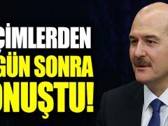 Süleyman Soylu, seçimlerden 10 gün sonra konuştu!