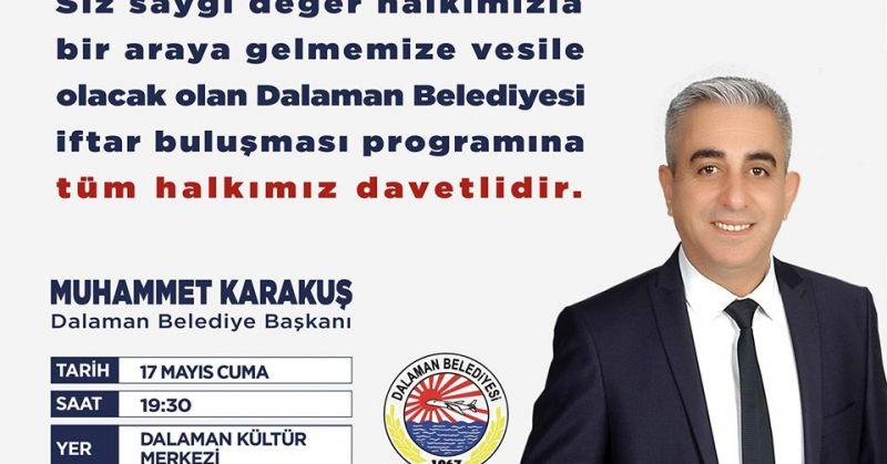 KARAKUŞ'TAN İFTAR BULUŞMASINA DAVET