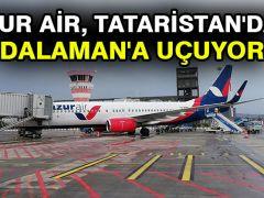 Azur Air, Tataristan'dan Dalaman'a uçuyor