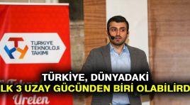 Selçuk Bayraktar: Türkiye, dünyadaki ilk 3 uzay gücünden biri olabilirdi
