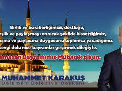 Başkan Karakuş'tan Bayram Mesajı
