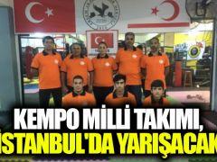 Kempo Milli Takımı, İstanbul'da yarışacak