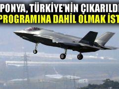 'Japonya, Türkiye'nin çıkarıldığı F-35 programına dahil olmak istiyor'