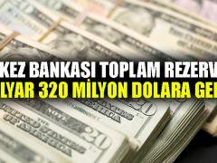 Merkez Bankası toplam rezervleri 98 milyar 320 milyon dolara geriledi