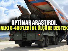 Optimar araştırdı, Türk halkı S-400'leri ne ölçüde destekliyor?