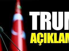Erdogan, Trump'ın mesajları için ilk kez kamera karşısına geçti