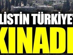 Filistin Türkiye'yi kınadı! Aferin sana Filistin!!!