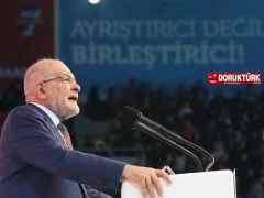 Karamollaoğlu: Saadet Partisi tam bağımsızlık hareketidir!