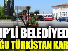 CHP'li belediyeden örnek Doğu Türkistan kararı!