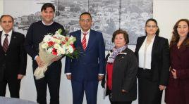 Vergi Dairesi Müdürü Aktar'dan Karaca'ya ziyaret