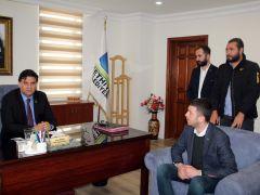 Başkan Adayı Çoban, Karaca'yı ziyaret etti