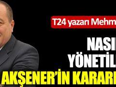 Mehmet Tezkan: Nasıl rejimle yönetileceğimiz Akşener'in kararına bağlı!
