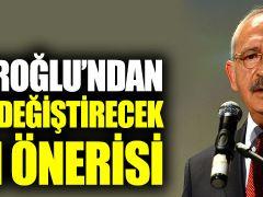 Kılıçdaroğlu'ndan gündemi değiştirecek seçim önerisi  ?