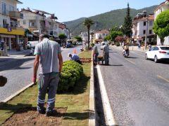 Fethiye'de Caddeler Renkleniyor