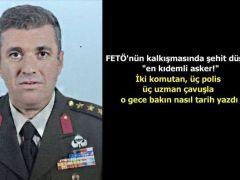 Demokrasi Şehidim ŞEHİT PİYADE KURMAY ALBAY SAİT ERTÜRK