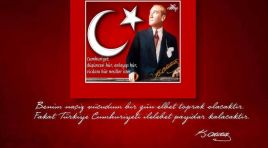 CUMHURİYET HEPİMİZE EMANET!