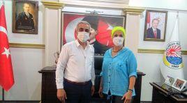 Aygül Aran, Karakuş'u ziyaret etti
