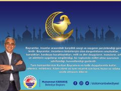 Başkan Karakuş'tan Kurban Bayramı Mesajı