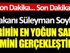 İçişleri Bakanı Süleyman Soylu açıkladı: 'Tarihin en yoğun salgın denetimini gerçekleştireceğiz'