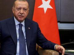 Cumhurbaşkanı Erdoğan, KKTC Başbakanı Ersin Tatar'ı kabul etti
